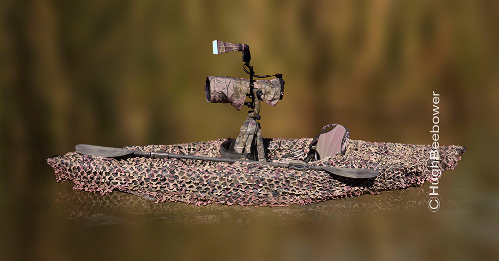 Camo Kayak | Beebower Productions