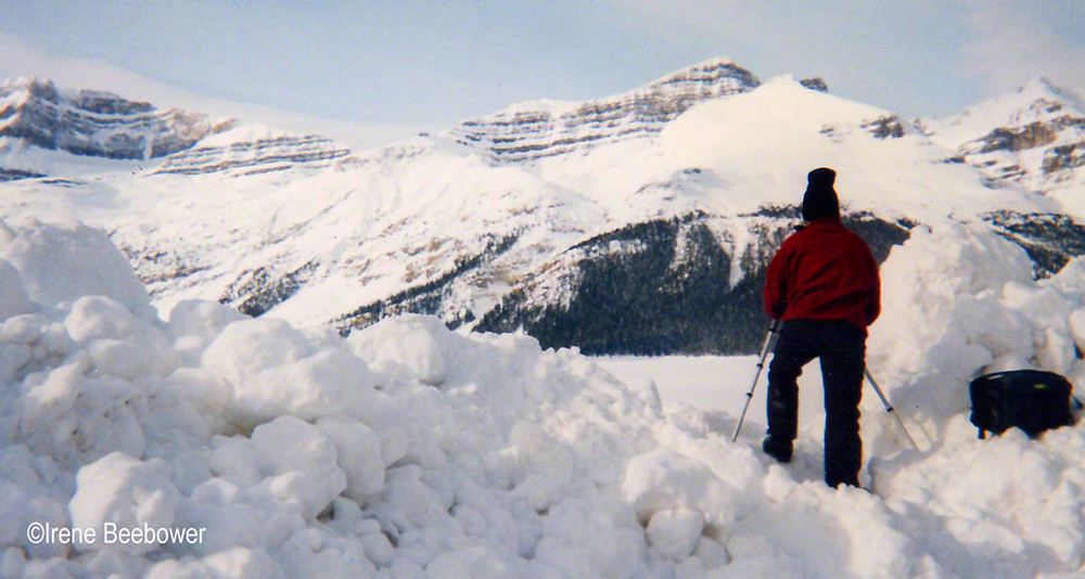 Dad in a Snow Bank | Beebower Productions